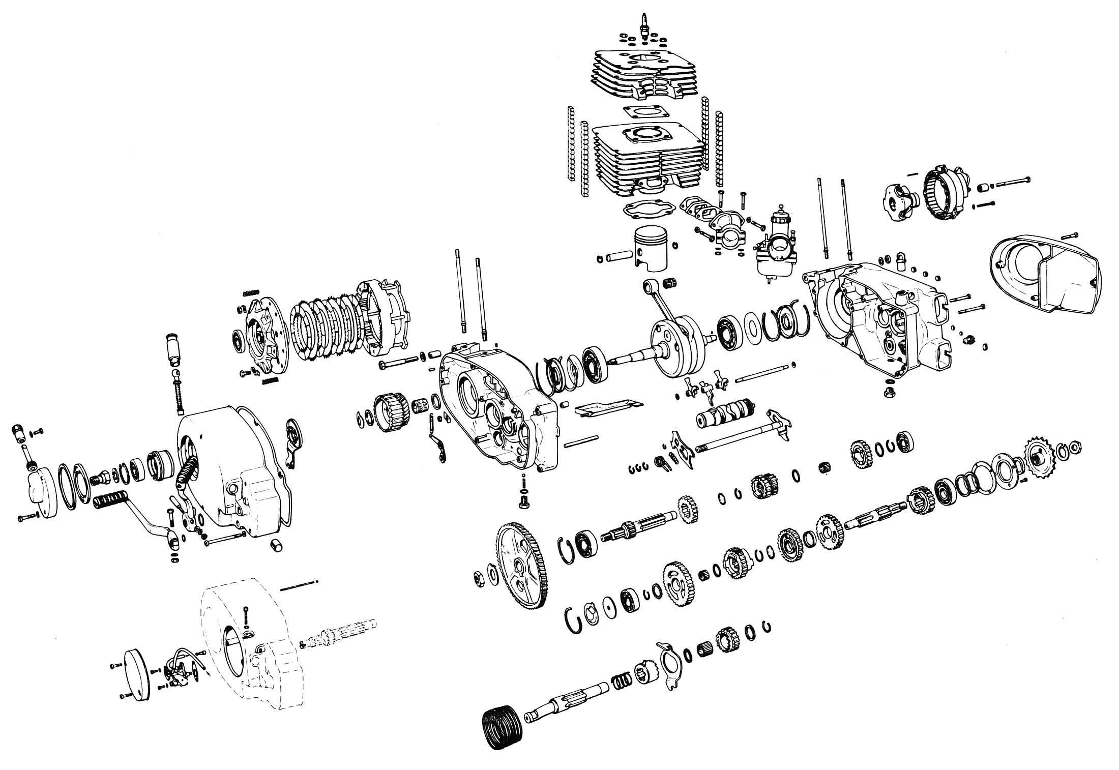 schemat silnika etz 250  251    mz etz