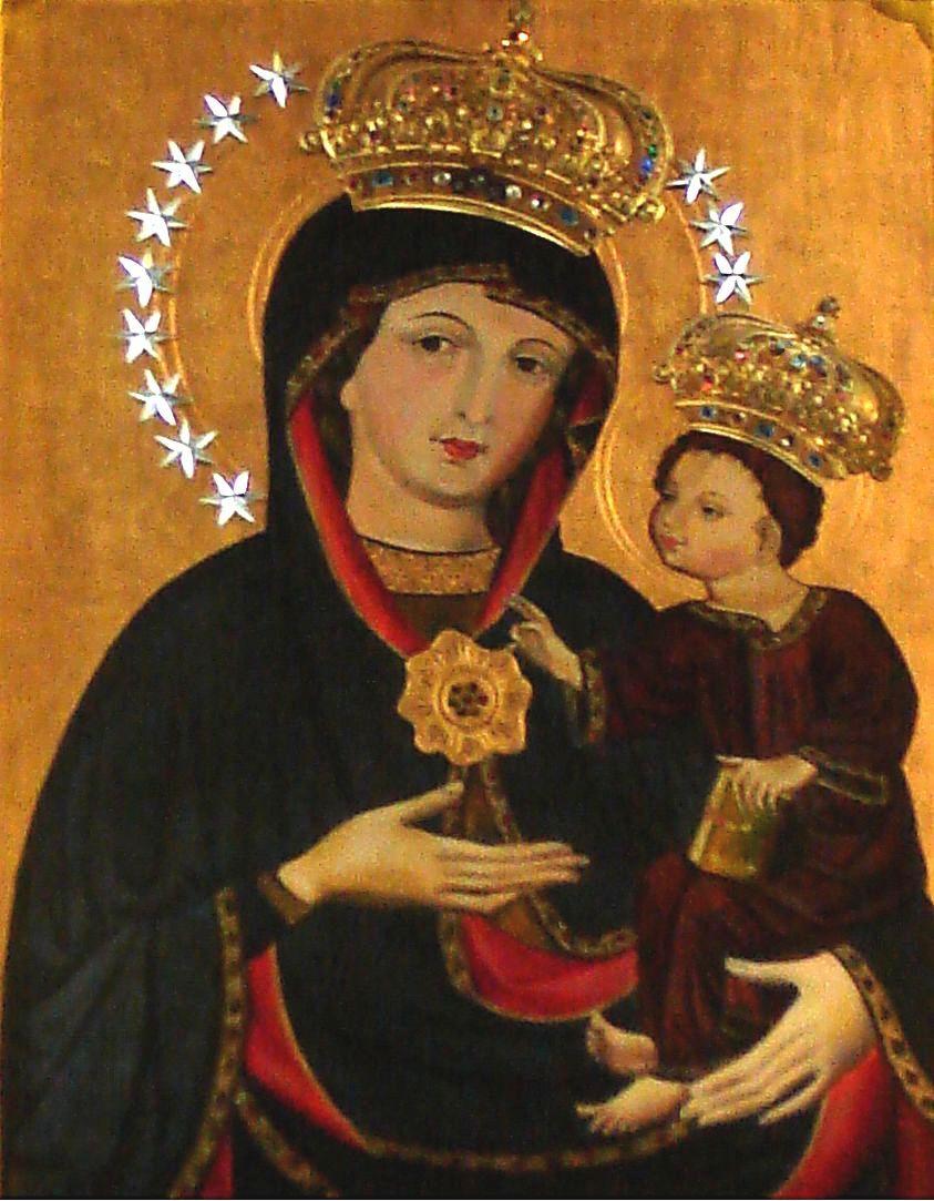 Poważne Obraz Matki Bożej Staszkowskiej :: Parafia Staszkówka VJ75