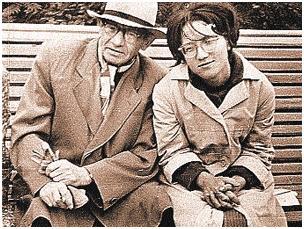 Знаменитого Вольфа Мессинга восхищала искренность студентки Галины. Иркутск, 1965 г.