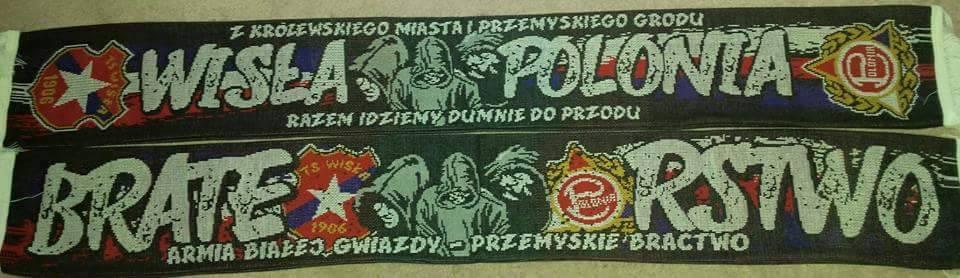 Szalik Wisła Polonia