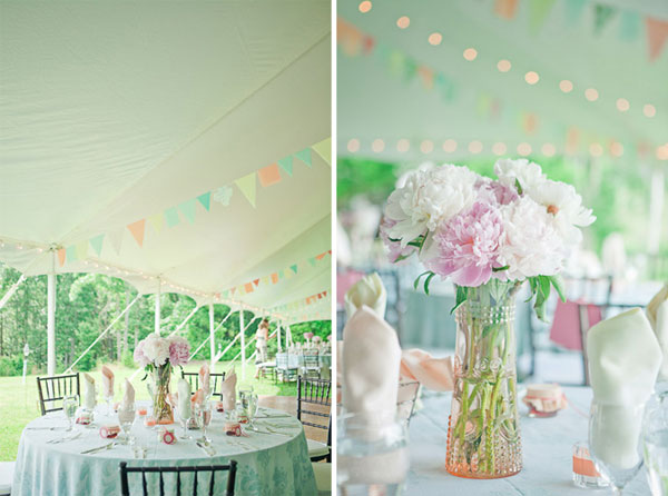 pastels wedding