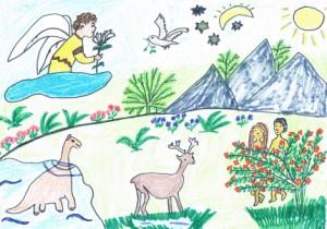 Stworzenie świata Wiersze Dla Dzieci Wiersze Religijne