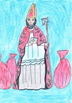 święty Mikołaj Wiersze Dla Dzieci Wiersze Religijne