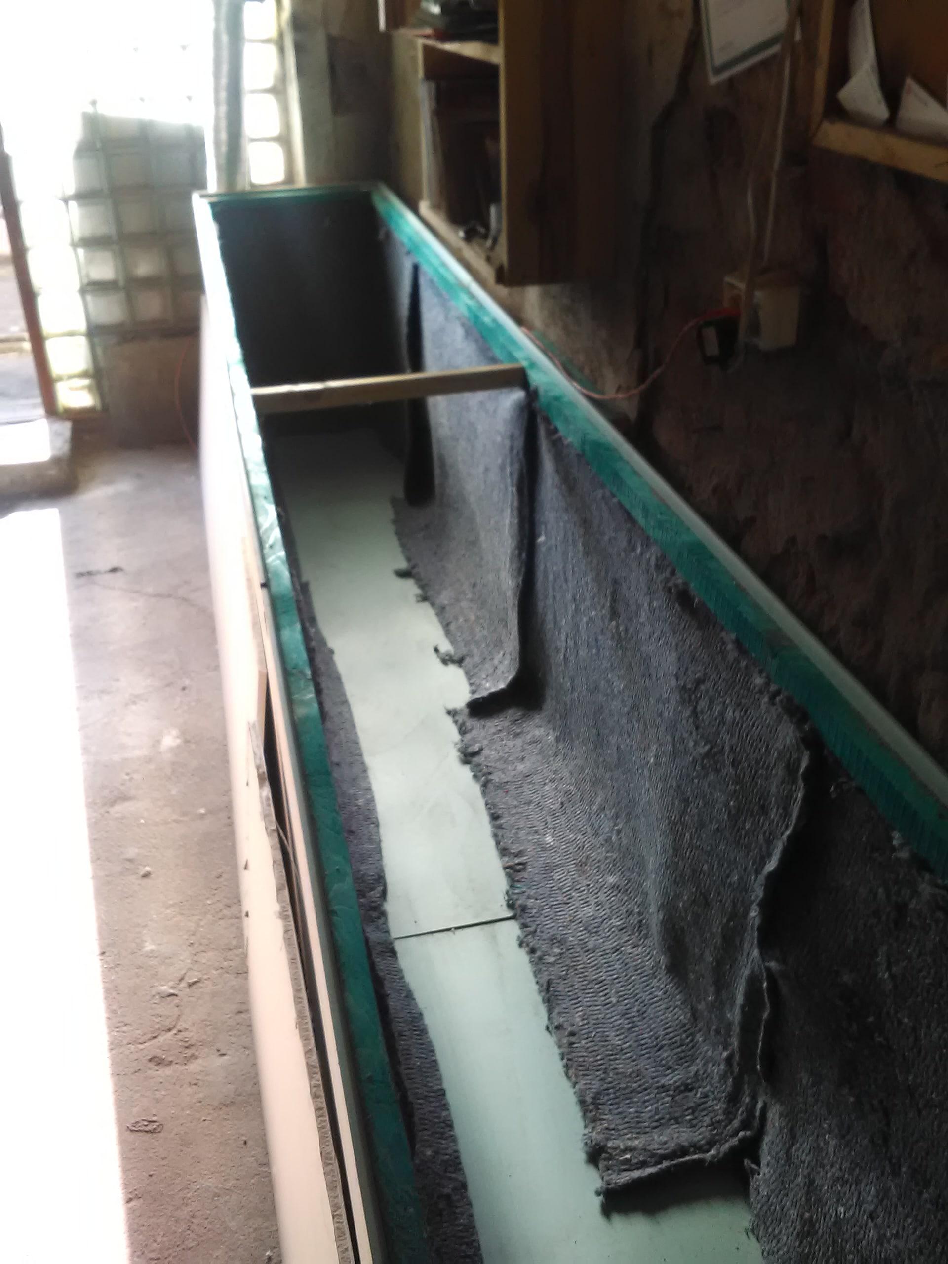 Ocieplenie wnętrza komory suszarniczej
