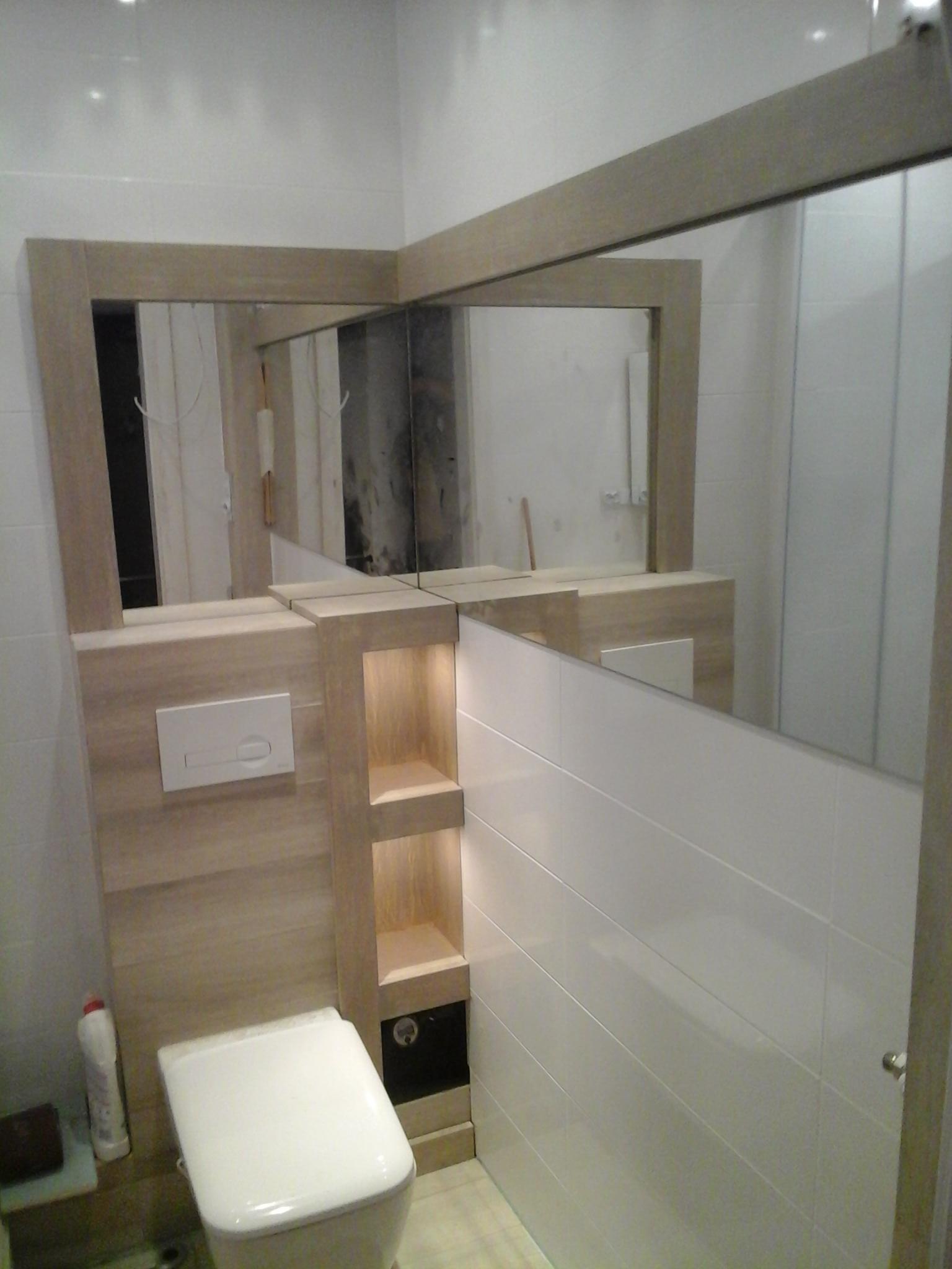 lustro łazienkowe wrocław