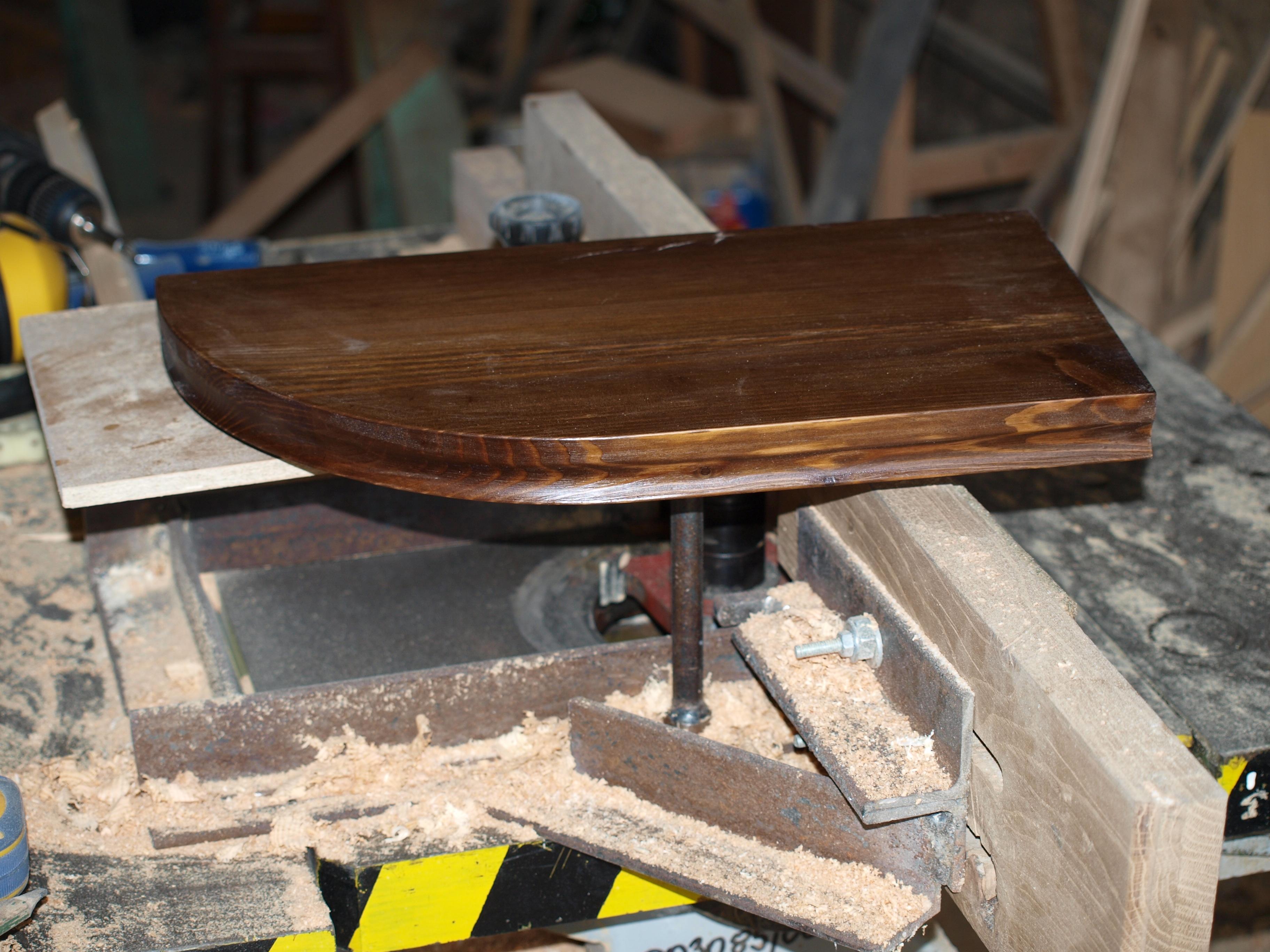 półka drewniana odżywiczona