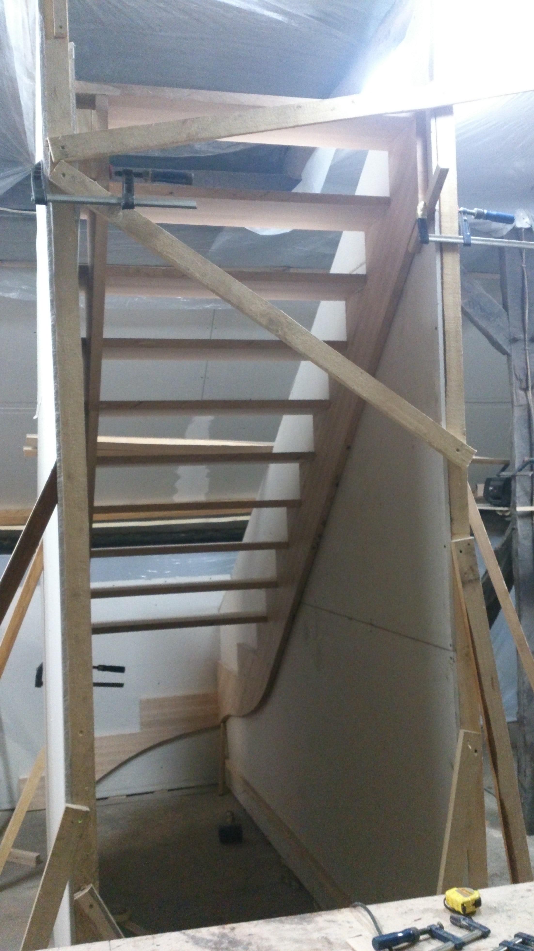 ręczne rozmierzanie schodów samonośnych zabiegowych wrocław