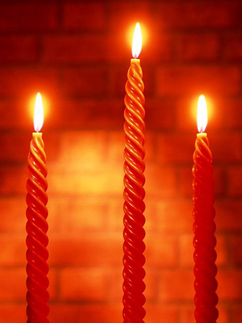 świeca - die Kerze